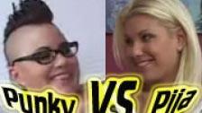 Follada lésbica : Punky VS Pija