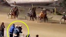 Aprovechando para echar un polvo en las carreras de caballos