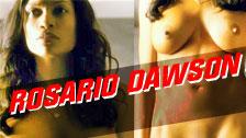 La guapa actriz Rosario Dawson totalmente desnuda en su nueva peli