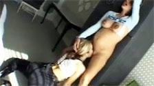 Belladonna embarazada , follando con una mujer morena