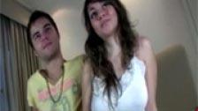 Video porno en español de una pareja amateur follando