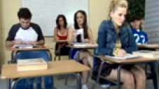 Alexis Texas follando con el profesor en medio de clase