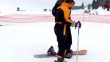 Clases de esquí fuera de pista pero solo para chicas