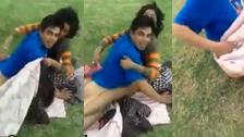 Dwóch brutalnych policjantów udziela nagany parce