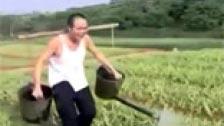 Porno chino rural con pueblerinos agricultores follando