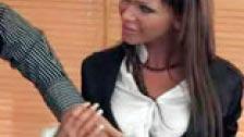 Christina Bella follando por el culo con su sastre
