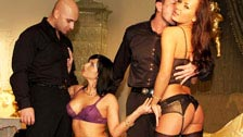 Dos prostitutas de lujo llamadas Renata Black y Nataly