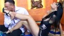 Sexe et fétichisme des pieds Black Angelika