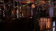 Linda Murray penetração anal no vestiário de favores um ano novo do partido da véspera