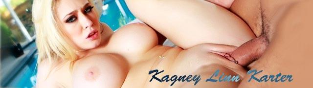 Kagney Linn Karter porra no deck da piscina