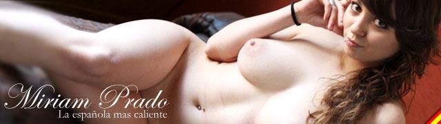 L\' Espagnol Miriam Prado et seins naturels exquis