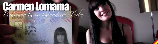 Dia Carmen Lomama mais virgem de seu aniversário de 18 anos