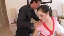Sasha Grey transa violentamente com um velho tarado