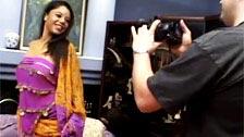 Beleza indiana fodida por um fotógrafo que a fama prometida