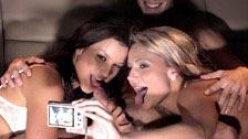 Samantha Jolie y su noche loca montandose un trío en la limusina