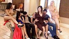 Versión porno del concurso Gran Hermano en una mansión