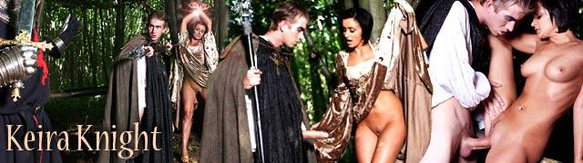 A prática sexual explicita malvado feiticeiro Keira Cavaleiro