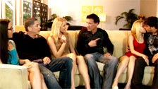Marco Banderas in an orgy with Evilyn Fierce, Cali Carter and another girl