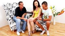 Anastasia banging her boyfriend\'s father