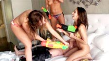 Sara luvv, Carter und Callie Calypso Cruise fucking und Spaß