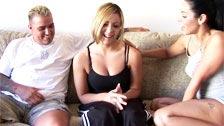 Veronica Rayne convence Lorena Sanchez a fazer sexo a três