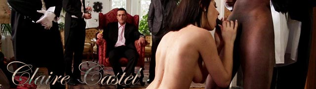 A millionaire puts his new maid, Claire Castel, to the test