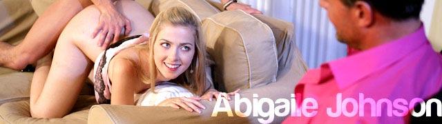 Abigaile Johnson fucking in a consensual infidelity scene