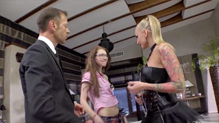 Kayla Green and Misha Cross sodomized by the Italian stud Rocco