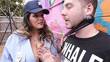 A policial anti-graffiti Angelina Castro dá a um artista o que ele merece