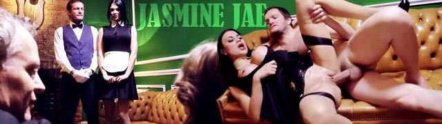 The maid Jasmine Jae and the butler fucking for Samantha Bentley