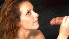 Tweety Valentine, una pelirroja sexy haciendo sexo oral y vaginal