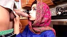 Questa donna araba di nome Ada Sanchez si fa scopare per punizione