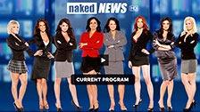 Algunas de presentadoras mas sexys de Naked news en el noticiario