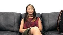 La oriental Angellyna hace su primer casting con lefazos en la cara