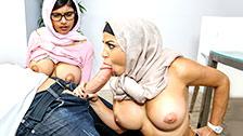 trio sex xxx arabes