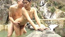 A japonesa bêbada Haruka Makino sofre abuso sexual em um spa