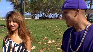 Sesso sul portico con protagonista la giovane latina Veronica Rodriguez