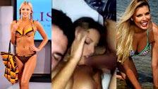 Chorwacka top modelka Tina Katanic w prywatnym filmiku porno
