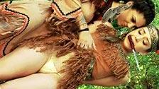 Lesben-Cosplay mit Bonnie Rotten und Remy LaCroix, die als Indianerinnen verkleidet sind