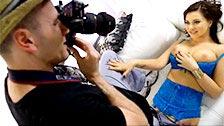 Anna Polina est bonne et elle se tape le photographe