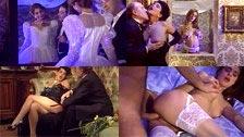 Zara Whites fickt an ihrem Hochzeitstag und Angelica Bella schaut dabei zu