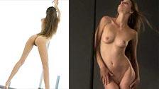 Vídeo musical com várias modelos dançando nuas