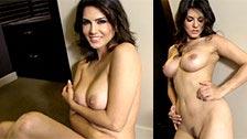 Sunny Leone faz um striptease e nos mostra seu corpo natural perfeito