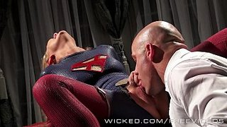 Carter Cruise banging Lex Luthor as Supergirl