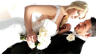Anikka Albrite having intercourse during her first night as a wife