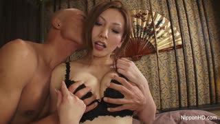 Japanese MILF with a hairy pussy, uncensored