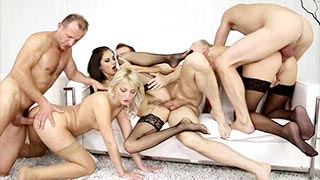 Kayla Green, Katy Rose and Shrima Malati having an orgy