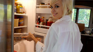 Emma Mae takes a break from cooking and gets banged