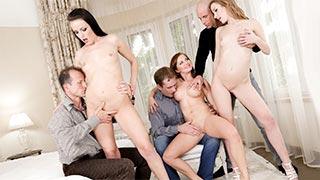 Orgia com Alexis Cristal, Bella Baby e Samantha Johnson