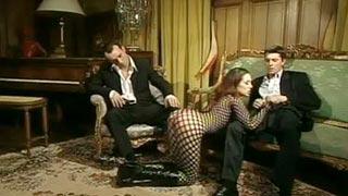 Ménage e dupla penetração com Cynthia Lavigne